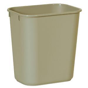 New Rubbermaid Beige Trash Can Waste Basket 13 Quart Home