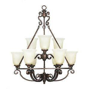 Home Decorations Collection 9-light Chandalier $200 OBO