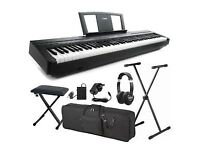 Yamaha P45 Electric Piano with accessories