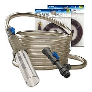 Water changing hose for aquariums