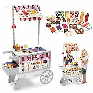 NEW ( in box) Melissa and Doug - snacks and sweets cart