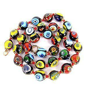 de9e8acc5182 Murano Glass Bead Necklace