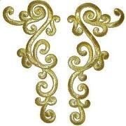 Gold Applique