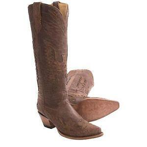 Creative Women39s Ladies Leather Tall Cowboy Boots Cross Python Western Riding