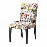 4 Ikea Henriksdal dining chair slip covers-Blomstermala Floral