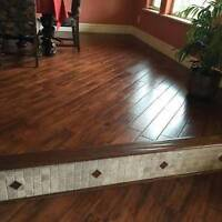Laminate Installation - Quality Work - 25 yrs Experience!
