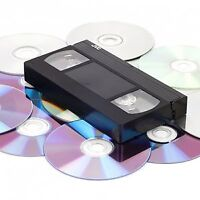 Transfer VHS to DVD or Video File - $7 also 8mm Hi8 MiniDV VHS-C
