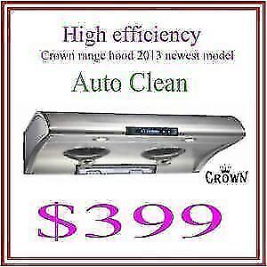 Crown Range Hood 2018 Promotion!!!
