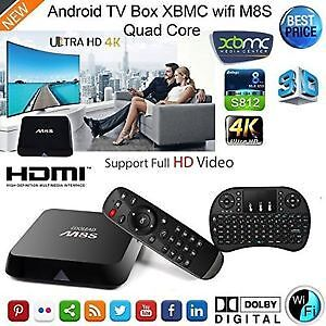 M8S Android Box Fully Programmed 1 YR Warranty Local