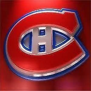GREAT REDS & GREYS SEATS for ALL 2017-18 MTL CANADIENS GAMES