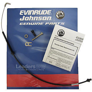 Johnson/Evinrude/OMC New OEM KIT AY, THROTTLE CABLE 0437512, 437