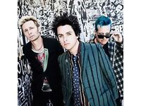 GREEN DAY TICKETS BELLAHOUSTON PARK GLASGOW
