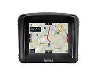 """Rupse Motorcycle GPS SatNav Waterproof Bluetooth Motorbike 3.5"""" Touch Screen Sat Nav"""
