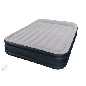 Airbed with electric pump