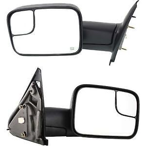 2002 - 2008 DODGE RAM TOWING MIRRORS - CH1321228 - 55077444 AL