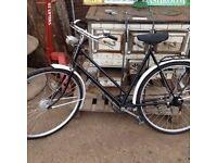 1950's Vintage Ladies Gazelle Town Bike