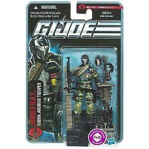 G.I. Joe Pursuit of Cobra 3 3/4 Inch Action Figure Jungle BA