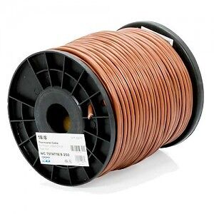 50-60 feet of 8 wire thermostat wire (18/8 brown electrical)