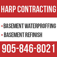Brampton Leaky Wet Basement Waterproofing? Call 905-846-8021