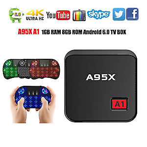 BRAND NEW ANDROID TV 6.0 4K A95X KODI IPTV COMPATIBLE 2018
