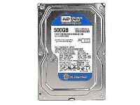 500gb Sata hard drive for pc excellent