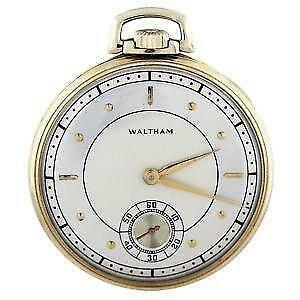 american waltham pocket watch serial numbers