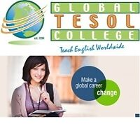 Get TESOL Certified Now - Job Guaranteed