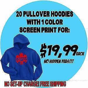 Wholesale Custom Hoodies! *Winter's here - Keep warm* Minimum 24