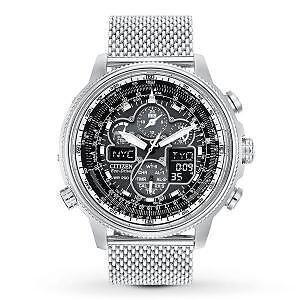 Citizen Men's JY8030-83E Navihawk A-T Watch with Stainless Steel
