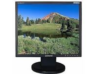 "Samsung SyncMaster LCD display computer monitor 19"" screen"