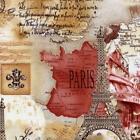 Paris France Fabric