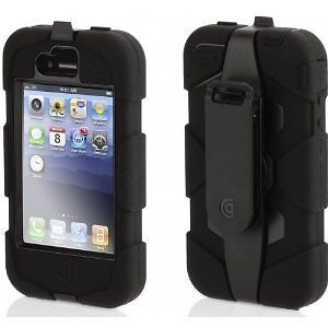 Griffin Survivor Military Duty Case Cover Belt Clip for iPhone4 4S Black