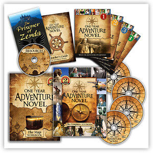 One Year Adventure Novel - 78 Lessons on 7 DVDs plus Books