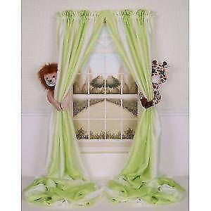 white nursery curtains grommet jungle nursery curtains soft furnishings ebay