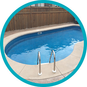 pool opening and weekly cleaning services
