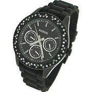 Womens Black Stella Fossil Watch