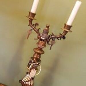 STEAMPUNK: Candleabra; Lamp;Clocks; Crosses