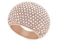 Swarovski Stunning rose gold dome bling ring SOLD OUT