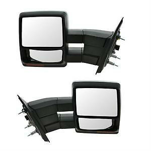 NEW 04-14 F150 TOWING MIRROR POWER HEATED PUDDLE LAMP CHROME CAP