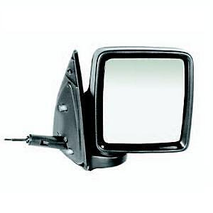 VAUXHALL COMBO MK2 2001-2012 BLACK MANUAL DOOR WING MIRROR RH RIGHT DRIVER SIDE