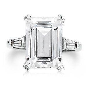Cubic Zirconia Size 4.5 Engagement Rings