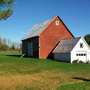 9.88 Acre Property for Sale - Barn and Garage