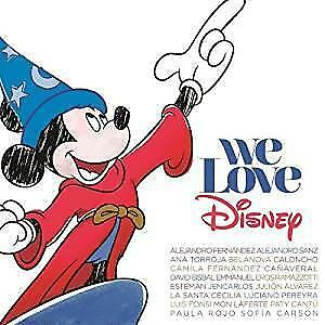 cd - Various Artists - We Love Disney Deluxe Edition CD+DVD