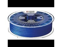 3D Printer Filament FDA FORMFUTURA 2.85mm HDglass see through blue 750g