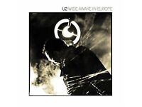 U2 Wide Awake in Europe limited edition numbered LP