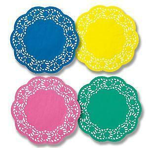 Colored Paper Doily
