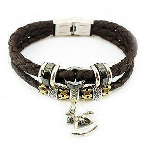 Leather Horse Bracelets
