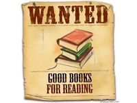 WE NEED BOOKS ! NEW AND USED !!!
