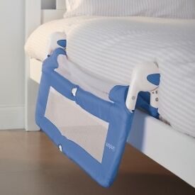 Lindam Blue Soft Folding Bed Rail