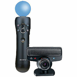 PS3 camera and motion controller